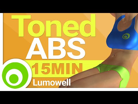 Toned ABS in 15 Minutes - Exercises to Lose Belly Fat and Tone Your Stomach