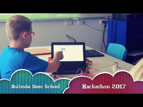 Coding Kids Hackathon at Bulimba State School