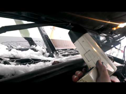 How to fix windshield washer lines or pump