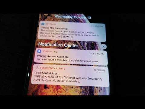 Notifications iPhone XS Max How to Access