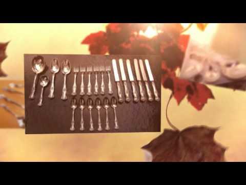 22 Pcs. Rogers VINTAGE GRAPE Silver Plate International Silverplate Flatware