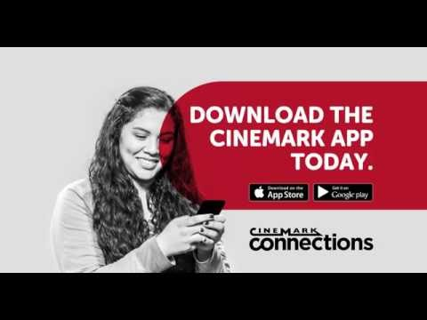 Join Cinemark Connections! Get Rewarded! Download the Cinemark app now!