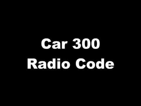 Car 300 Radio Code Radiocode GM0300 Blaupunkt Radio Code verloren?