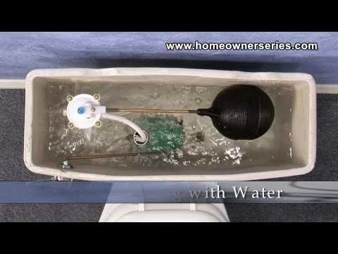 How to Fix a Toilet - Diagnostics - Problems Filling