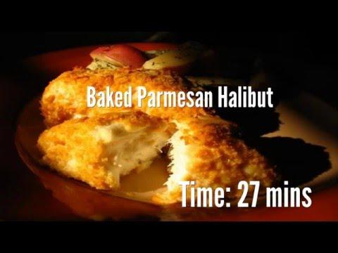 Baked Parmesan Halibut Recipe