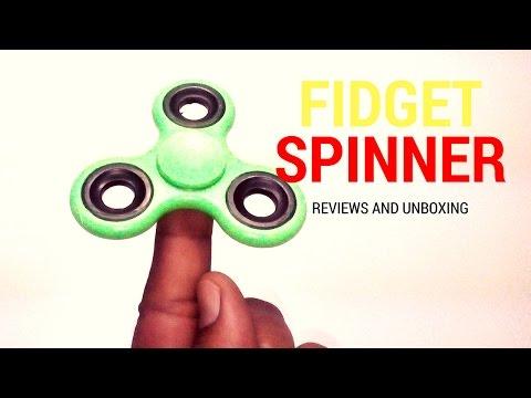 Fidget Spinner Review- Official Dark Fidget Spinner Unboxing