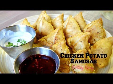 Chicken Potato Samosa Recipe | Everyday Masala Series