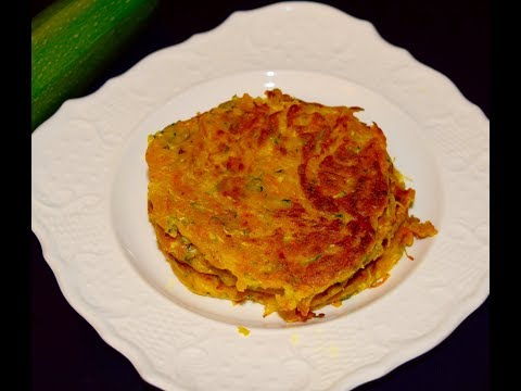 Green Squash or Zucchini Patties- சீமைச் சுரைக்காய்  | Kids Evening snack Recipe
