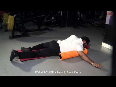 FOAM ROLLER - Pecs & Front Delts