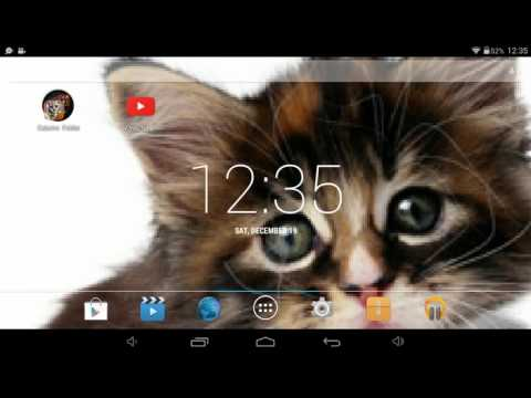 How to get a custom wallpapers on tablet
