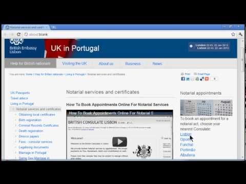 How To Book Appointments Online for Notarial Services