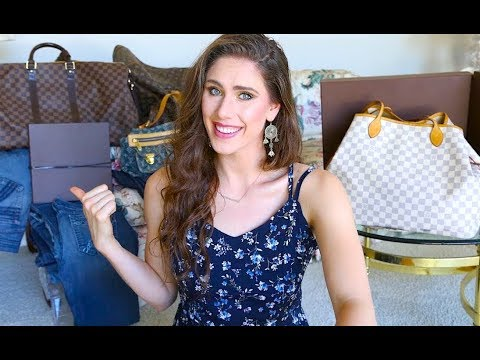DONATING MY LOUIS VUITTON BAGS TO CHARITY UPDATE