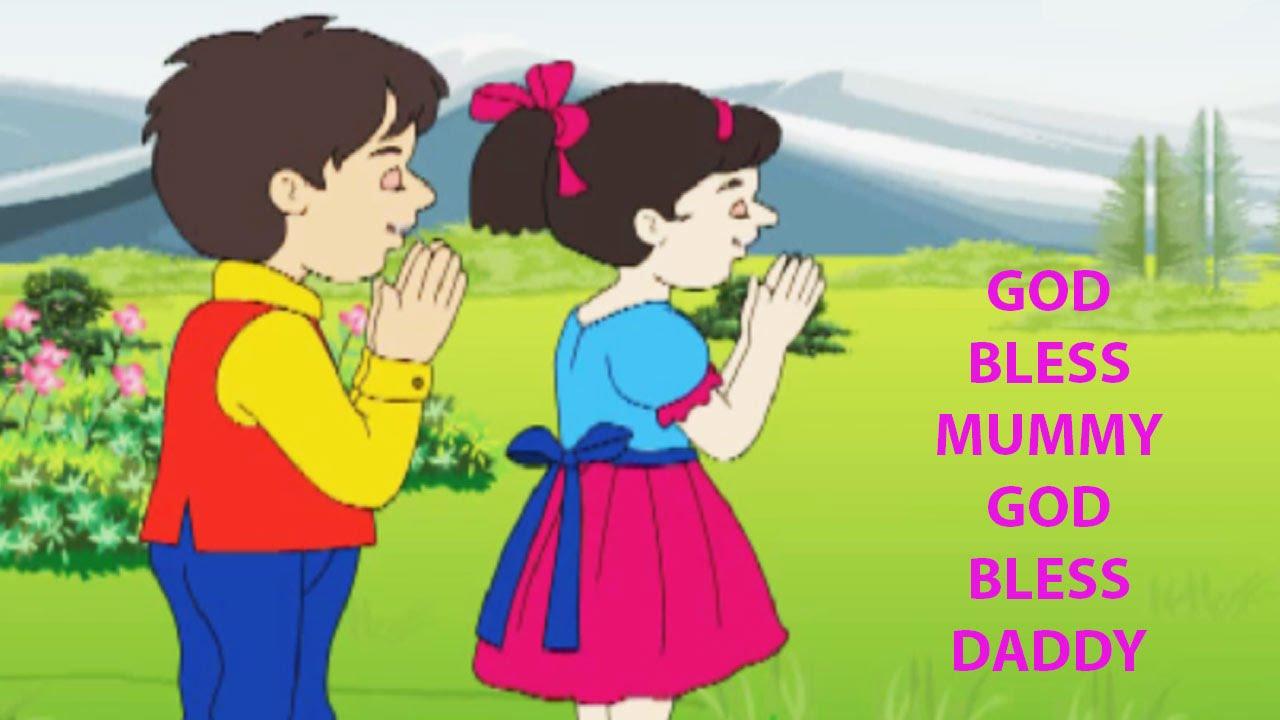 Download God Bless Mummy God Bless Daddy Kids Song | Popular Nursery Rhymes For Children MP3 Gratis