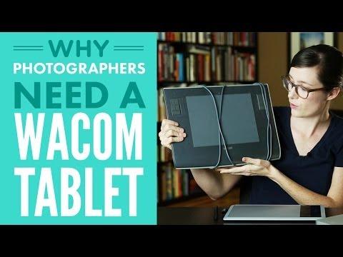 Why Photographers Need A Wacom Tablet
