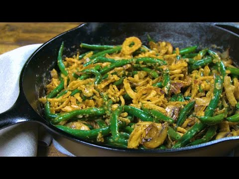 How to Make Simple Skillet Green Bean Casserole