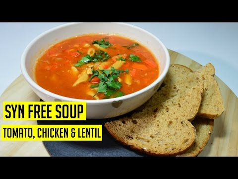 Slimming World Chicken Tomato Soup Recipe | Indian Recipes | Cook with Anisa