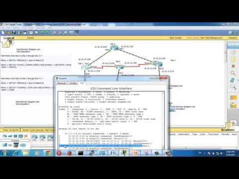 EIGRP metric calculation - EIGRP tutorial -EIGRP Troubleshooting