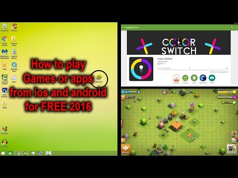 How to use IOS and Android Games/apps on a PC