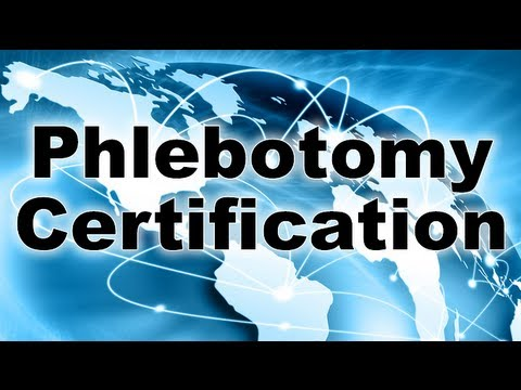 Phlebotomy Certification Help - Review Your Phlebotomy Certification Options