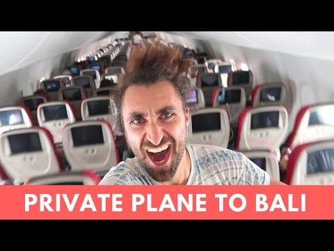 FLYING MALINDO AIR - KUALA LUMPUR TO BALI