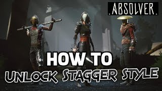 Absolver How To Unlock Stagger Style (Drunken Fist)