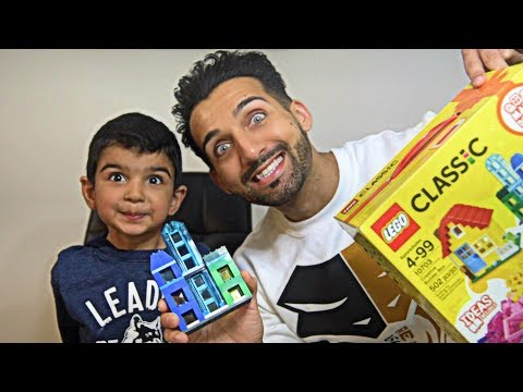 LEGO CASTLE   LEGO Building Challenge   Family Fun & Playtime with Toys - Zayyan Idrees