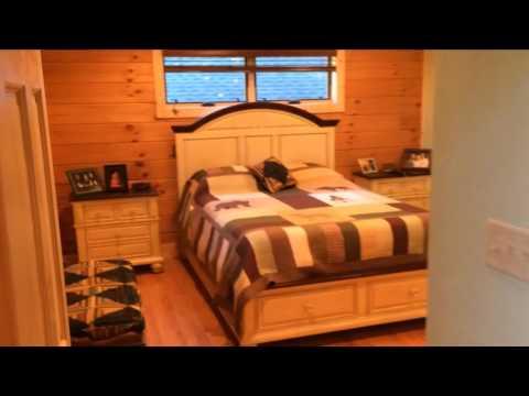 Newland Log Cabin Tour
