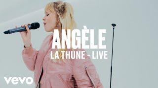 Angèle - La Thune (Live) | Vevo DSCVR ARTISTS TO WATCH 2019