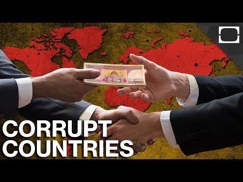 What Are The World's Most Corrupt Countries?