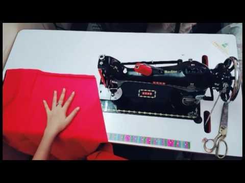 Petticoat पेटीकोट ki cutting or सिलाई stretching step by step full video tutorial new 2017