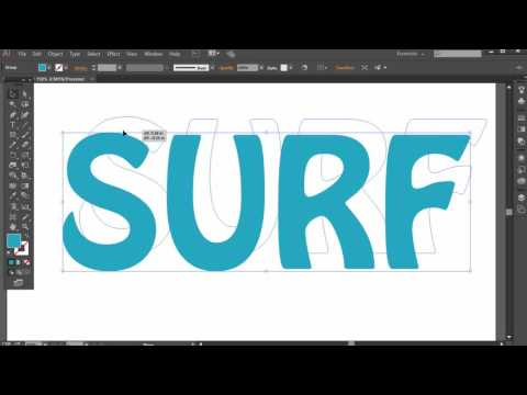 Outlining Text in Adobe Illustrator Tutorial