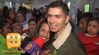 Carmelita de Exatlón y Brenda, la novia de Aristeo ¡se encontraron en el aeropuerto!