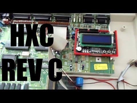 SD HxC REV C Floppy emulator Amiga 500 tutorial