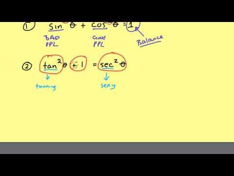 Memorizing Pythagorean Identities Easily