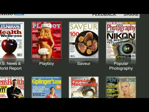 Free Magazine Online from Zinio - Firefox - Linux Mint 6
