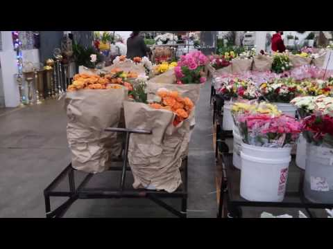 Explore LA: Downtown LA Flower Market