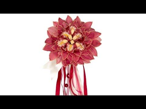 Composite Cymbidium Bridal Bouquet