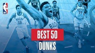 NBA's Best 50 Dunks | 2018-19 NBA Regular Season