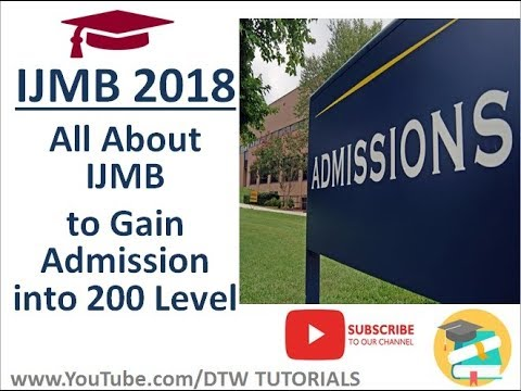 IJMB 2018: All About IJMB to Gain Admission into 200 Level Without JAMB