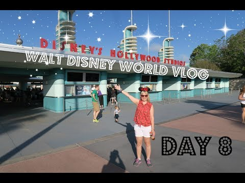 Day 8 | Walt Disney World & Florida Vlog | April 2017 | Hollywood Studios