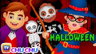 Halloween is Here   SCARY & SPOOKY Halloween Songs for Children   ChuChu TV Nursery Rhymes for Kids