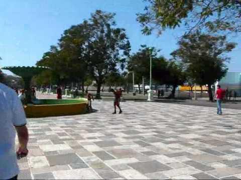 Cuba Travel: The Port of Santiago de Cuba - Parque Alameda