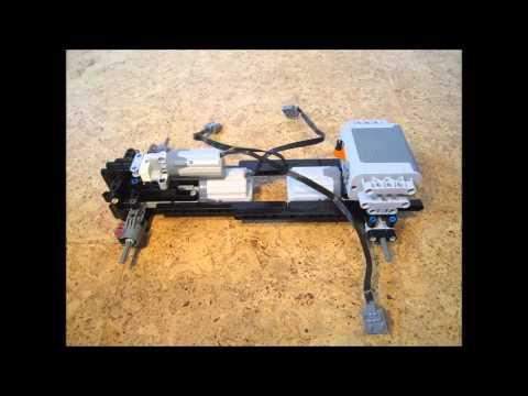 Building Instructions: LEGO Technic 4WD snowplow + salt spreader