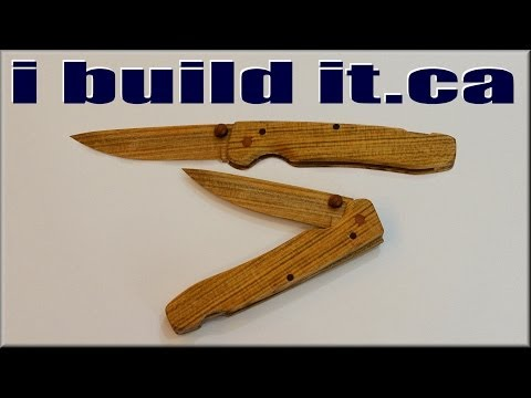 Making a Wooden Folding Knife