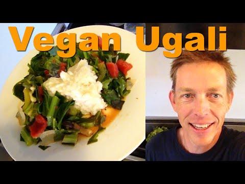 Vegan Ugali and Sukuma Wiki (Oil-Free) in Under 10 Minutes - Kenyan Runners - RawTill4