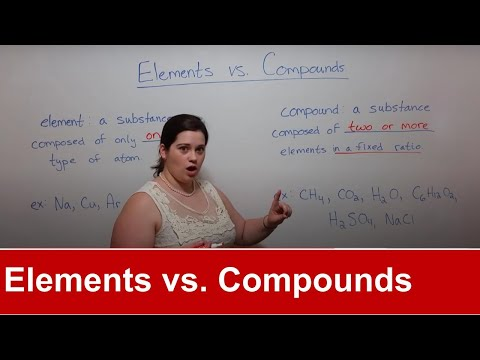 Elements vs Compounds