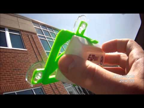 How to install/mount new style EZ-Pass tag/transponder to EZ-Pass Holder