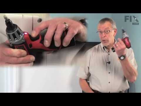 Amana Refrigerator Repair – How to replace the Freezer Door Gasket
