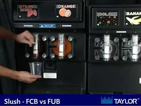 Carbonated vs. Uncarbonated Slush Machine