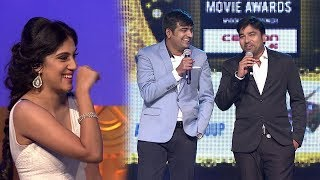 Mirchi Shiva And Sathish Making Fun Of Dhanya Balakrishna